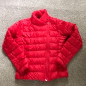 Athleta Women's lightweight jacket red medium new